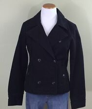 Old Navy Women's Double Breasted Canvas Jacket Coat Size Medium