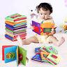 Bellissimo Neonato Bebè Bimbo Intelligenza Sviluppo Giocattolo Panno Libro