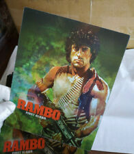 RAMBO FIRST BLOOD - Multi Image Lenticular 3D Flip Magnet Cover FOR steelbook