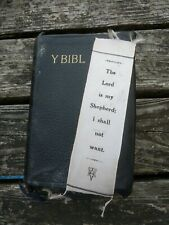 Eyre & Spottiswoode Leather Bible & Bookmark