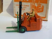 DINKY MECCANO DIECAST TOYS No 14c COVENTRY CLIMAX FORK LIFT TRUCK BOXED MODEL