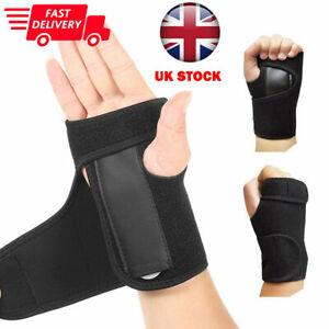 Wrist Hand Brace Support Carpal Tunnel Splint Arthritis Sprain Stabilizer Strap