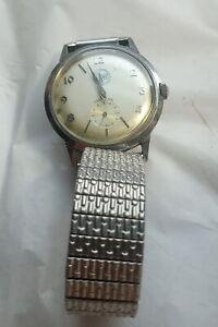 1963 Lord Elgin Mens Wristwatch 23 J Presentation Stainless