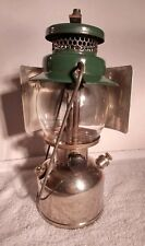 Coleman Single Mantle Lantern Model 242C with Reflector Made in 12/49