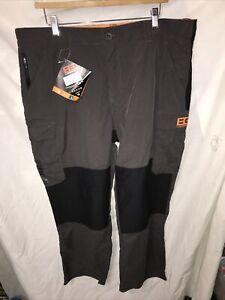 Craghoppers Mens Bear Grylls Survivor Trousers, W40 S, Grey / Black
