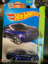 HOT WHEELS Bentley Continental SuperSports  Blue HW Workshops