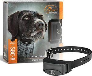 SportDOG SBC-8 No Bark Control Collar Stop Barking TRAINING