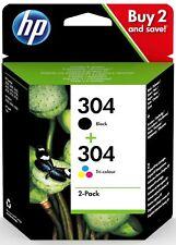 Genuine HP 304 For Deskjet 2620 2632 2633 2634 Ink Cartridges Black & Colour