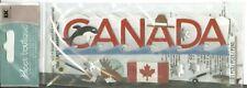 Canada Maple Leaf Flag Hockey Snow Moose Mountie Travel  Jolee's stickers