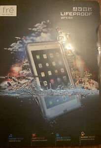 Lifeproof Fre Case For Ipad Air Apple White Protective Waterproof Authentic