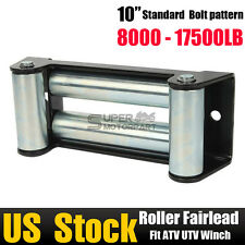 10''Roller Fairlead Cable 8000 - 17500LB Four Way Guide for Steel Recovery Winch