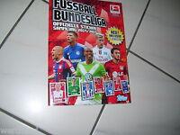 Topps Bundesliga Sticker 2014/2015 Album mit  allen Sticker komplett