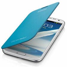 Samsung Original schützende Flip-Cover EFC-1J9FBEGSTD Galaxy Note 2 LTE in blue
