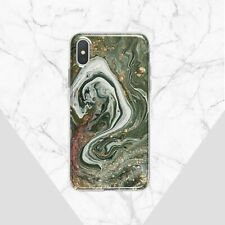 Marbled iPhone 11 Pro XS X Cover Mineral iPhone 7 8 Plus Case Stone iPhone XR 6s