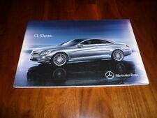 Mercedes Benz CL clase folleto 06/2012