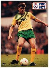 Rob Newman Norwich City #299 Pro Set Football 1991-2 Trade Card (C364)