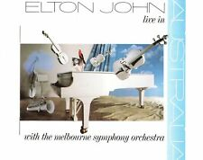 CD ELTON JOHN live in australia - with the Melbourne symp. Orch. Ex  (B0559)
