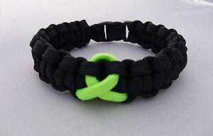 Muscular Dystrophy Inspired handmade paracord bracelet