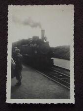 TRAIN ON BROCKENBAHN BROCKEN, HARZ RAILWAY Vintage 1938  PHOTO