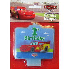 CARS 1st BIRTHDAY CAKE CANDLE ~ First Party Supplies Cake Decorations McQueen