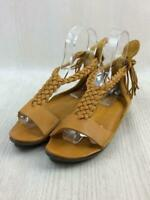 trippen - cml Leather Fashion  Sandal Camel From Port Japan 334