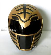 Cosplay Mighty Morphin Power Rangers BLACK TIGER Ranger Life-size Helmet Props