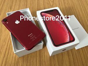 Apple iPhone Xr - 128GB - Red *Unlocked*  *Apple Warranty August 2022 *