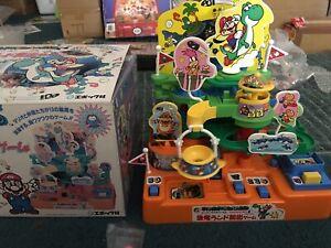 Rare EPOCH Super Mario World Adventure Island Game UFO Toy Nintendo Japan Figure