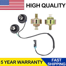2 Knock Sensor with Harness Pair Kit for Chevy Silverado1500 GMC Sierra Cadillac