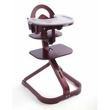 Scandinavian Child Signet Wooden Svan Complete High Chair Mahogany New In Box