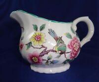 James Kent Ltd Old Foley English Pottery Chinese Rose Pattern Creamer
