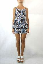 ASOS Africa The Green Room Floral Paisley Cotton Strapless Dress Size 10 NWT