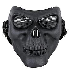 Coxeer M02 Deluxe Full Face Skull Mask Outdoor Hunting Cs War Game Mask Black