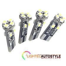 4x Canbus Error Free 8 Smd Led Xenon Hid Blanco Puro W5w T10 501 lado luz bombillas