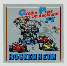 Großer Preis von Deutschland Hockenheim Aufkleber Sticker Motorsport