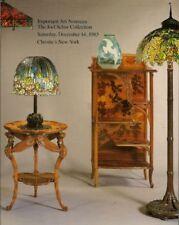 CHRISTIE'S Art Nouveau Tiffany Galle Majorelle Schur Co