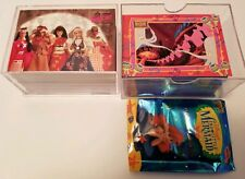 Barbie (1-100) and The Little Mermaid (1-90) Complete Sets Trading cards 1997
