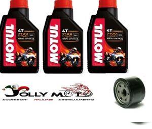 KIT TAGLIANDO OLIO MOTUL 7100 10W40+FILTRO OLIO YAMAHA T-MAX 500 2008-2012 TMAX
