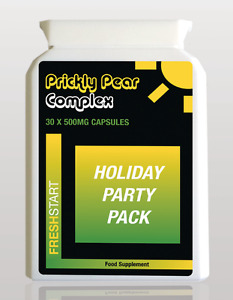 Fresh Start Capsules x 30 Holiday Party Pack For Those Who Suffer From Hangovers