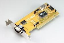 1-port RS232 serial PCI-bus (32-bit) card, low-profile, VSCom brand