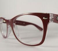Ray-Ban Mod RB 2132 New-Wayfarer Size 52[]18 Horn Rimmed Eyeglasses Frames Rx
