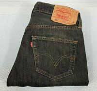 Vintage Levis 501 XX Jeans Men's Black Denim Jeans Size W32 L32 Straight Leg