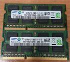 Samsung 8GB 2x4GB  DDR3 1600Mhz SODIMM Laptop RAM