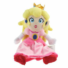 "8"" Nintendo Super Mario Bros. Princess Peach Plush Doll Stuffed Toy Kid Gift USA"
