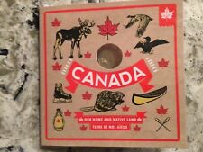 (1) Canadian 2016 O Canada 5 Coin Mint Gift Set with Maple Leaf $1 Loonie Dollar