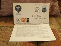 1965 - Talyllyn Railway Company Centenary Cover - 1/- Railway letter stamp