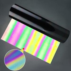 T-Shirt Reflective HTV PU Holographic Vinyl for Heat Press Transfer Iron On AU