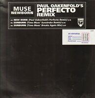 Muse – New Born ( Paul Oakenfold's Perfecto Remix) - Mushroom – MUSH92T - UK