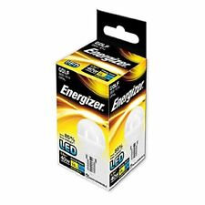 Energizer E14 6 W, 1 LED SES (Small Edison Screw) Golfball Bulb - Pack of 5