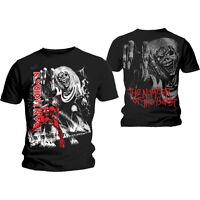 IRON MAIDEN Number Of The Beast Jumbo T-shirt 2-sided (S to XXL) NEW OFFICIAL
